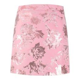Stine Goya • korte roze rok Nelly met bloemen