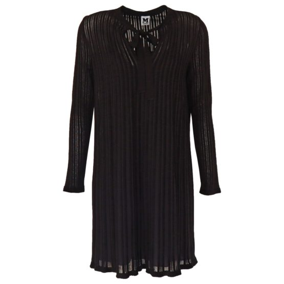 Missoni • zwarte gestreepte jurk