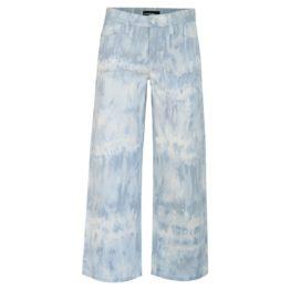 Cambio • blauwe tie dye culotte jeans Philippa