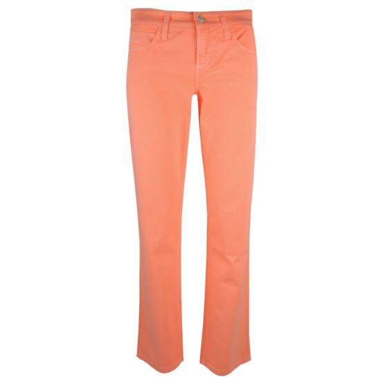 Cambio Sport • neon oranje slim fit jeans