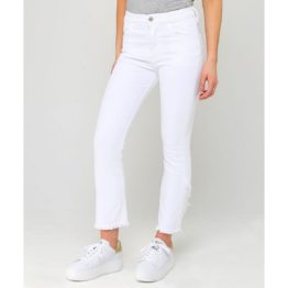 Citizens of Humanity • witte Drew Fray High Rise Crop Flare