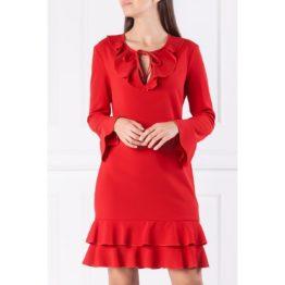 Liu Jo • korte rode jurk met volants