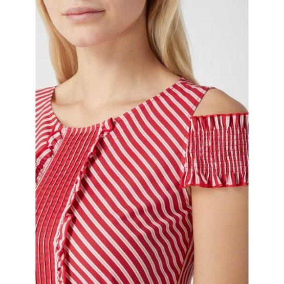 Liu Jo • korte rood wit gestreepte jurk
