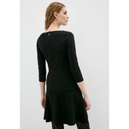 Patrizia Pepe • zwarte jurk met driekwart mouwen