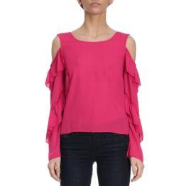 Patrizia Pepe • roze top met open schouders