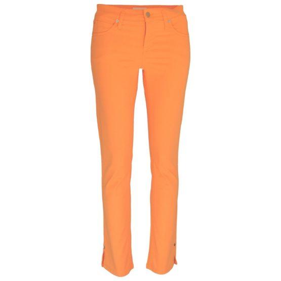 Cambio Jeans • oranje broek Tess Straight Short