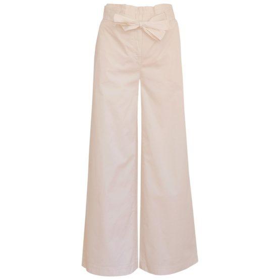 Cambio • katoenen culotte pantalon in ecru