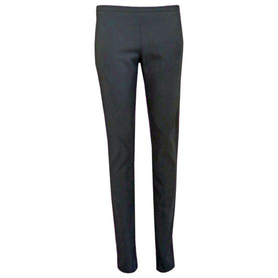 Patrizia Pepe • zwarte pantalon met ritsjesPatrizia Pepe • zwarte pantalon met ritsjes