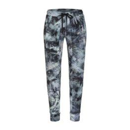 Cambio Sport • relaxte broek Jorden met palm print
