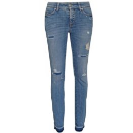 Cambio Jeans • blauwe jeans Paris Cropped