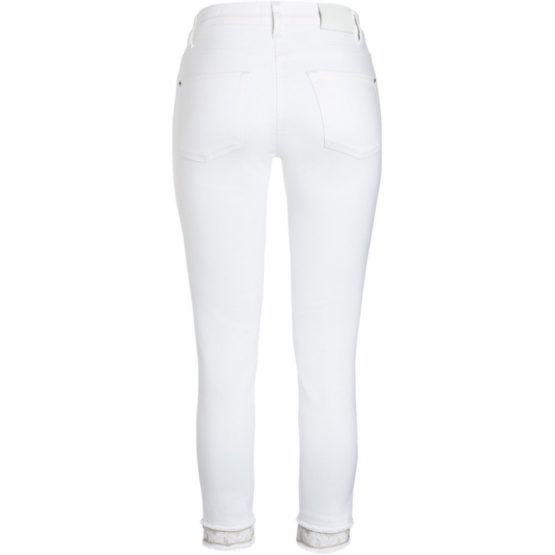 Cambio Jeans • witte jeans Paris Cropped