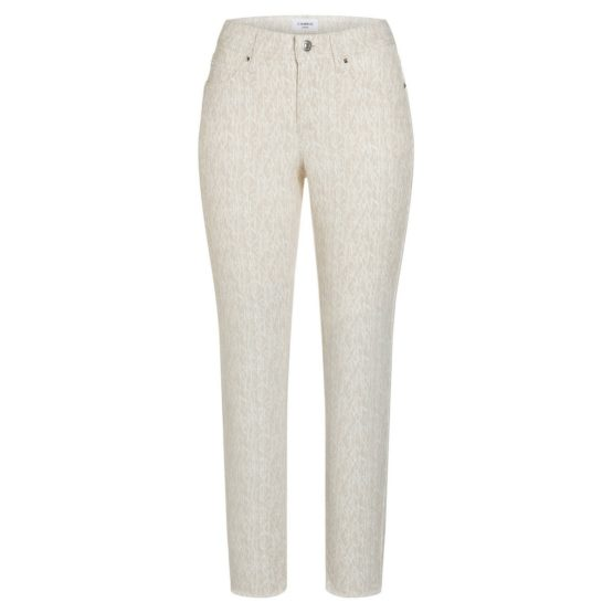 Cambio Jeans • beige Parla ancle cut jeans