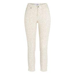 Cambio Jeans • ecru Parla ancle cut jeans