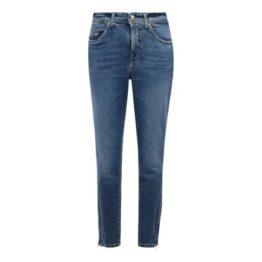 Cambio • blauwe Parla Zip jeans eco