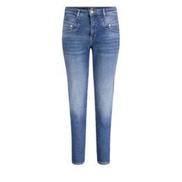 MAC Jeans • blauwe Rich Carrot jeans