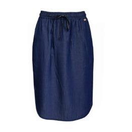 Verysimple • blauwe rok in denim look