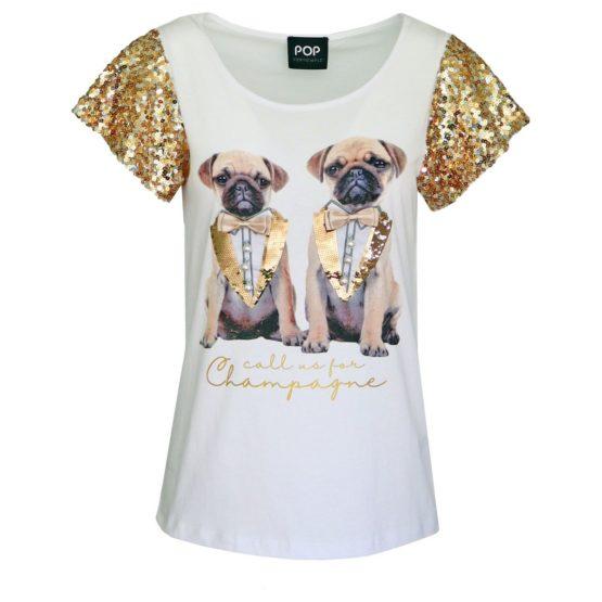 Verysimple • wit t-shirt met honden