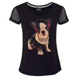 Verysimple • zwart shirt met hond