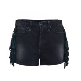 7 for all mankind • denim shorts met franjes