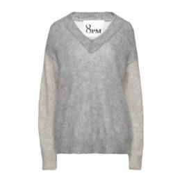 8PM • wollen trui in grijstinten