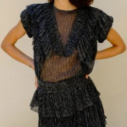Antik Batik • zwarte top Pigalle