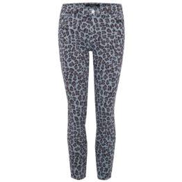 J Brand • mid-rise crop skinny jeans in jaguar print