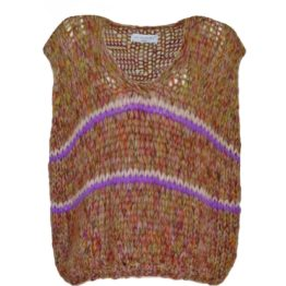 Les tricot d'O • oversized gebreide spencer