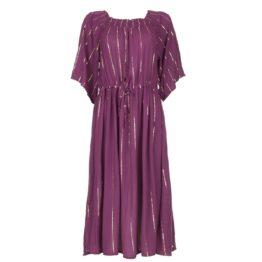 Lolly's Laundry • paarse maxi jurk Gerda