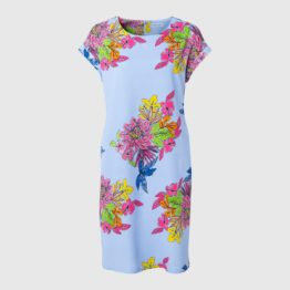 Louis and Mia • lichtblauwe jurk met bloemen