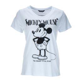 Princess goes Hollywood • wit t-shirt met Mickey