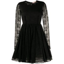 Twinset • zwarte kanten jurk