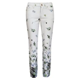 Cambio • witte jeans Paris Cropped