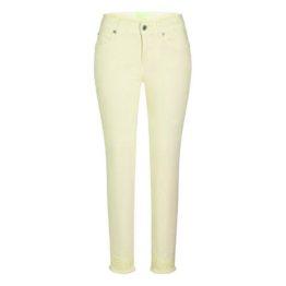 Cambio Jeans • lichtgele Parla Short