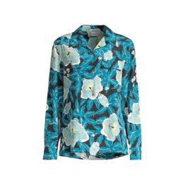 Equipment • zijden blouse met bloemen