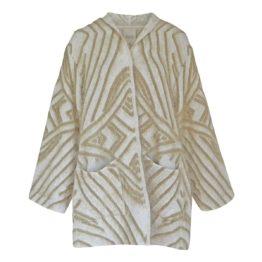 Friendly Sweater • lang ecru vest