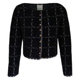 Friendly Sweater • zwart geruit vest