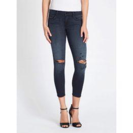 J Brand • blauwe Low-Rise crop skinny jeans