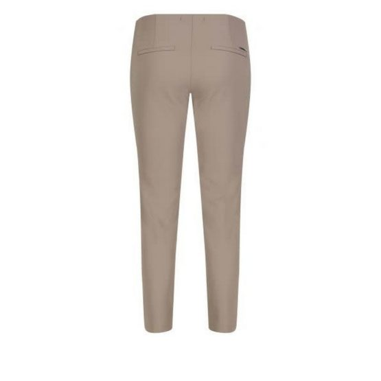 MAC • taupe pantalon Anna Zip New