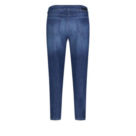 MAC • blauwe MINA jeans met beschadigingen