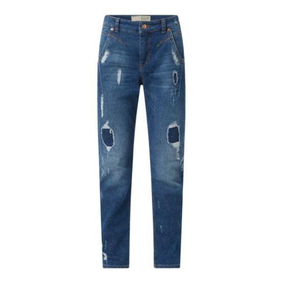 MAC • blauwe slim fit jeans RICH