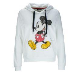 Princess goes Hollywood • witte hoodie met Mickey