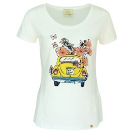 Verysimple • off-white t-shirt met kever