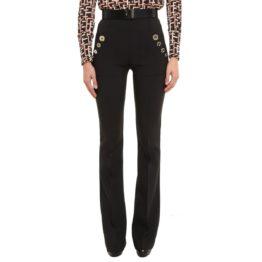 Elisabetta Franchi • zwarte wijde pantalon
