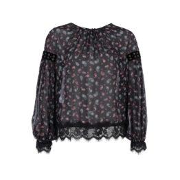 Pinko • zwarte blouse Maniglia