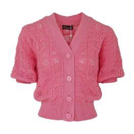Princess goes Hollywood • opengewerkt roze vest