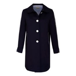 Verysimple • donkerblauwe trenchcoat